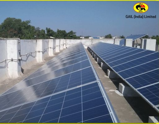 GAIL commissions India's second largest rooftop solar plant