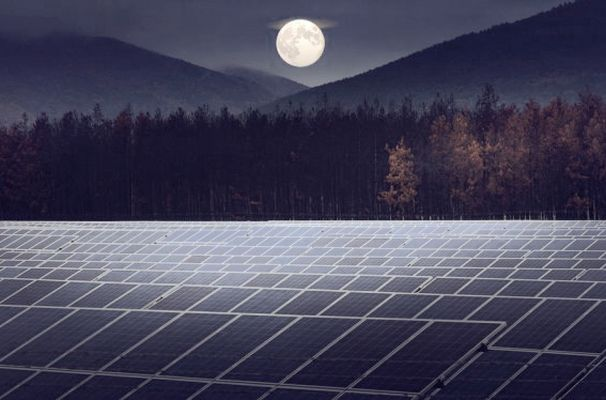 Can Moon Light Produce Electricity From Solar Panels
