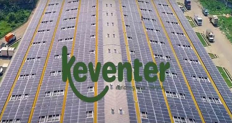 Keventer Agro rooftop solar